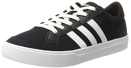 reputable site 8993f 85acf Adidas Vs Set, Zapatillas de Deporte Hombre, Negro (Core Blackftwr White