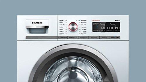 Siemens iQ700 WM14W5FCB Waschmaschine / 9,00 kg / A+++ / 152 kWh / 1.400 U/min / FC Bayern Meisterwascher / Nachlegefunktion / aquaStop mit lebenslanger Garantie / - 6