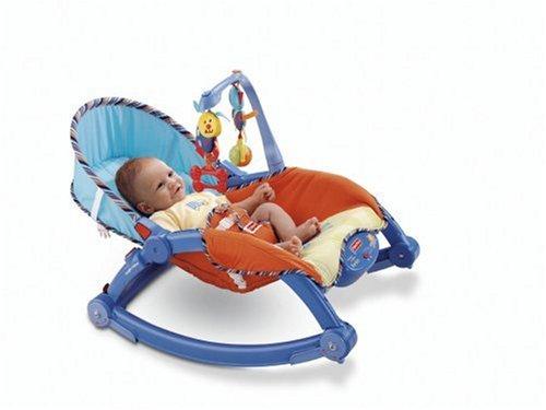 Fisher-Price Newborn-to-Toddler Rocker, Multicolour