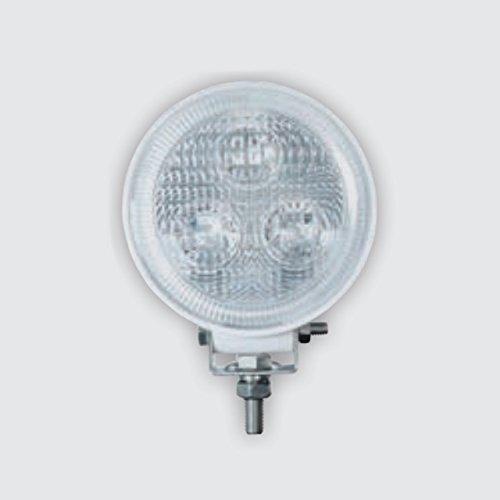 Aqua LED 12/24V Scheinwerfer IP68 Decksstrahler Suchscheinwerfer, Farbe:Weiß