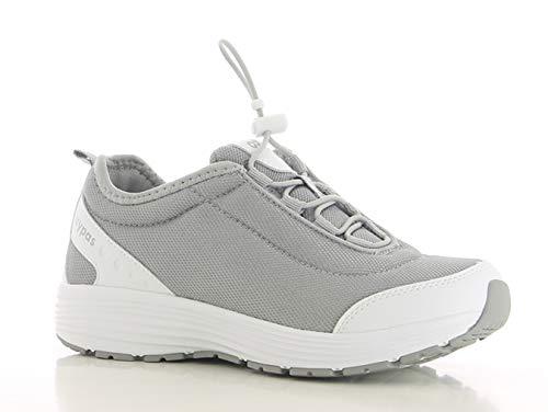 Oxypas Maud SRA Damen Arbeits- und Sicherheitsschuhe | Sneaker, Farbe: Grau, Größe: 39