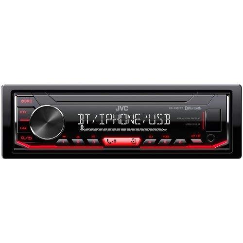 JVC Kd-X352Bt Bluetooth - Radio para Coche (Negro, 1 DIN, 50 W, Mosfet, Flac,Mp3,Wav,Wma, LCD)
