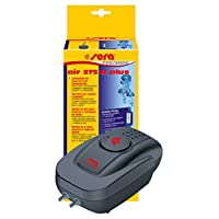 Sera 08814 Air 275 R Plus – Air Pump for Aquariums 275 l/h at 4 W – Extremely Light, Energy Saving, Long Lasting, Electronic, 2x Air Outlets