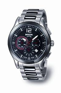 Reloj Boccia B3771-02 de cuarzo para hombre con correa de titanio, color plateado de Boccia