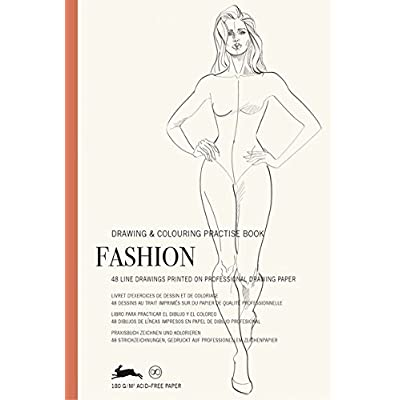 Fashion: Drawing & Colouring Practise Book