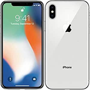 "Apple iPhone X Single SIM 4G 64GB Silver - smartphones (14.7 cm (5.8""), 64 GB, 12 MP, iOS, 11, Silver)"