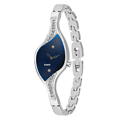 Espoir Analog Blue Dial Women's Watch -9710SM01