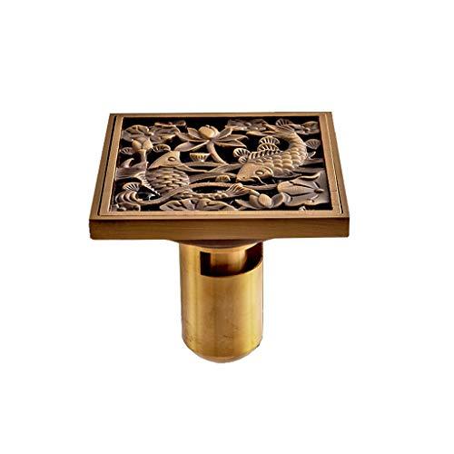 Bodenablauf Europäischen Stil Kupfer Deodorant Antike Badezimmer Waschmaschine Kanalisation Alten Umbau Anti-Ratte Insektenbekämpfung Deo 40 50 Rohr