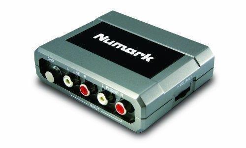 NUMARK STEREO IO - INTERFAZ DE AUDIO USB CON CONVERSION ANALOGICO-DIGITAL