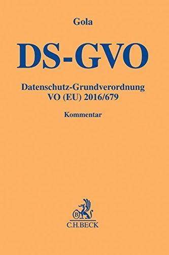 DS-GVO-Datenschutz-Grundverordnung-VO-EU-2016679-Gelbe-Erluterungsbcher