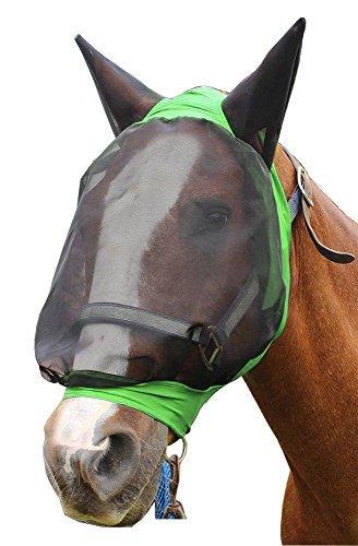 Derby Extra Komfort Lycra Grip Weichem Mesh-Horse Fliegenmaske mit Ohren–Pferd und Fun Mini Größen–Drei Farben