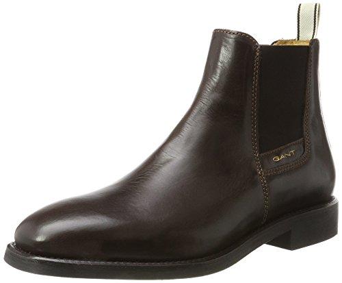 GANT Herren James Chelsea Boots Braun (Dark Brown)