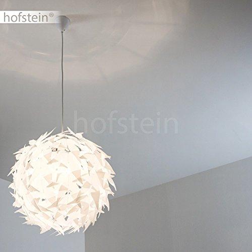 Weisse Hängeleuchte DOKKAS Pendellampe passend für die moderne Einrichtung - 5