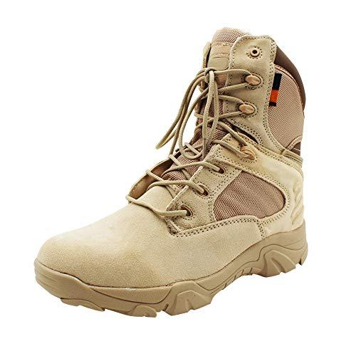 uirend Schuhe Arbeits Berufsschuhe Militär Einsatz Herren - Wüste Kampfstiefel Delta Special Forces Armee Bewaffneten Taktiken Boots Outdoor Bergsteigen Wanderschuhe Sicherheitsschuhe Stiefel