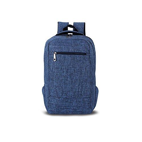 Evay 15.6 Zoll Notebook Laptop Rucksack für Damen Herren (Blau) (Usa Leder Handtasche Echte)