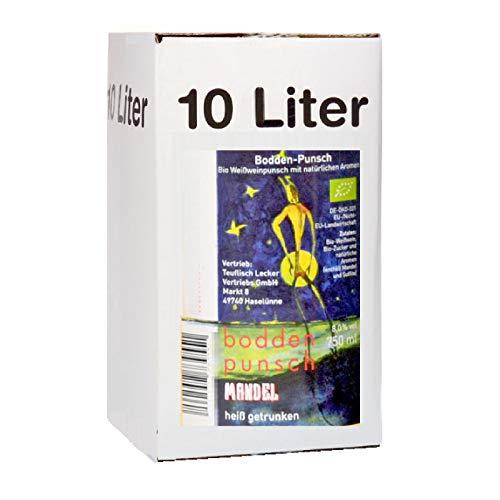 Bio Bodden Punsch Mandel Teuflisch Lecker 10 Liter bag in box 8% vol.