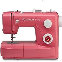 Singer MC SIMPLE 3223 Machine à Coudre Plastique/Châssis Métallique Rose 42,5 x 23,5 x 33,8 cm