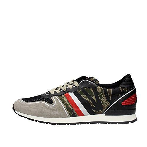 Serafini CAMP.80 Sneakers Uomo Camoscio/tessuto Verdone Verdone 45