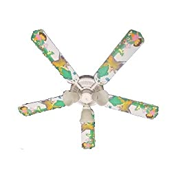 Ceiling Fan Designers Ceiling Fan, Dora The Explorer and Boots, 52