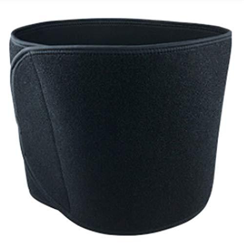 Cintura sportiva - cintura di sostegno lombare - attrezzatura protettiva per pallacanestro, compressione regolabile traspirante - per cintura addominale per palestra,sollevamento, lavoro,nero