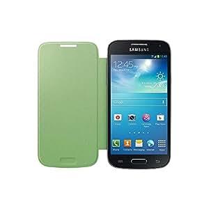 Samsung Hülle Schutzhülle Clip-On Flip Case Cover für Samsung Galaxy S4 Mini - Limette