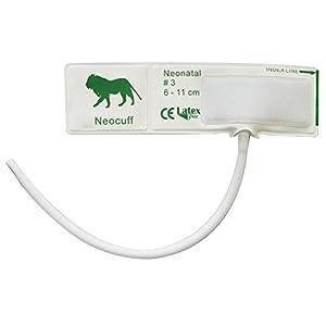 Einweg-Blutdruckmanschette für Neugeborene, 3-6 cm Armumfang