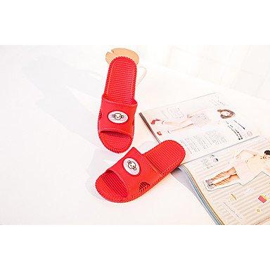 LQXZM Unisex pantofole & amp; flip-flops Comfort estivo PVC Casual tacco piatto altri Blu Verde Rosso altri grigio Fuchsia