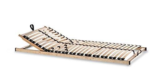 Lattenrost Metatex '7 ZONEN 28 Leisten' Zerlegt Härtegrad- und Kopfteilverstellung (100 x 200 cm)