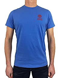 Franklin & Marshall Herren T-Shirt Blau Atlantic Blue