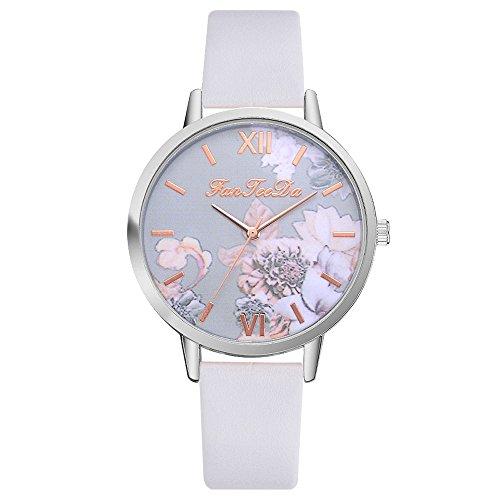 Frauen Uhren Lässige Mode Wasserdichte Uhren Diamant Strass Armbanduhr Weiß