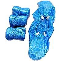 Holibanna - 100 fundas de plástico desechables para dispensador de zapatos, automáticas, para laboratorio, hogar u oficina