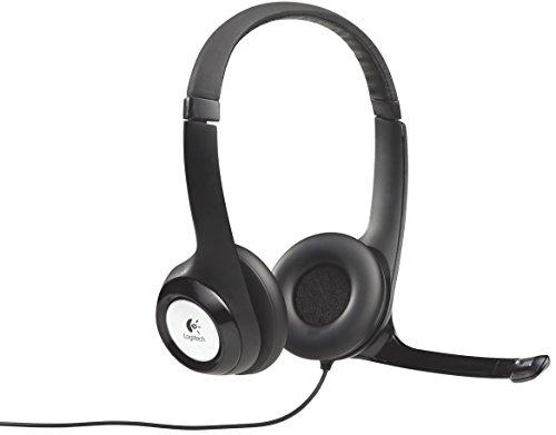 Business Headset (Logitech 981-000406 USB Kopfhörer)