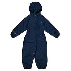 d4f4a810388 Regatta Great Outdoors Childrens Toddlers Splosh III Waterproof Rainsuit  (60-72m) (Navy