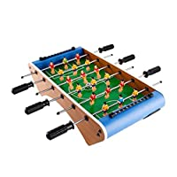 Foosball, foosball wooden football machine, foosball game, home multi-function game machine, foosball, size: 50 * 44 * 13.5 cm