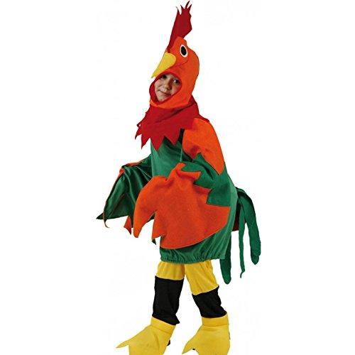 Imagen de disfraz gallo colores  talla 10 12 años