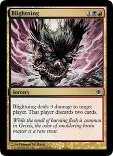 Magic: the Gathering - Blightning - Shards of Alara by Magic: the Gathering