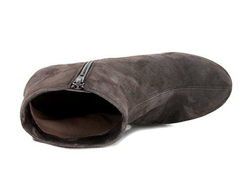 UNISA LENTE - Bottines / Boots - Femme Greige