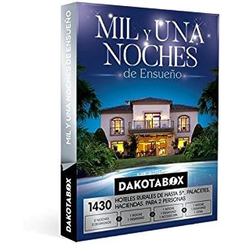 DAKOTABOX - Caja Regalo - MIL Y UNA NOCHES ENSUEÑO - 1430 Hoteles de hasta 5*, haciendas, conventos, palacetes, casas