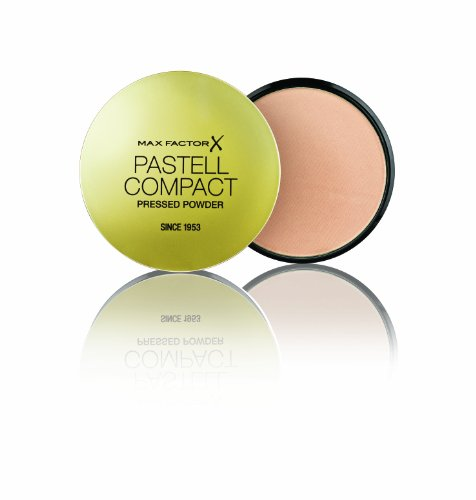 Max Factor Pastell Compact Powder Pastell 4 - Mattierendes Puder Make-up - Fixierpuder für Foundation und Rouge - 1 x 20 ml - Make-up Perfect Rouge
