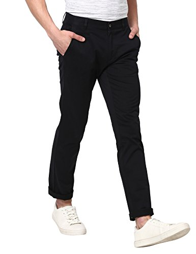 Monte Carlo Black Solid Trouser