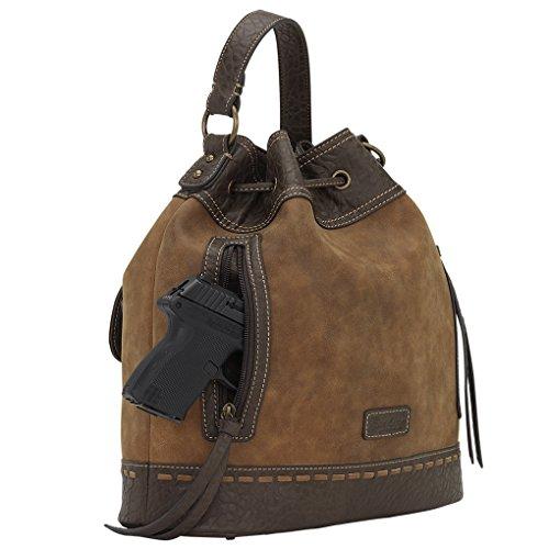 Banadana From American West  Êhobos & Shoulder Bags, Sacs à bandoulière femme Tan GNR