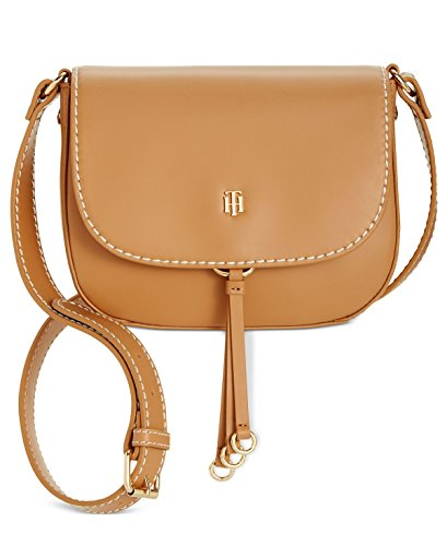 Tommy Hilfiger, Borsa a tracolla donna Camel