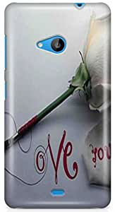 Expert Deal Best Quality 3D Printed Hard Designer Case Cover Back Cover For Microsoft Lumia 535