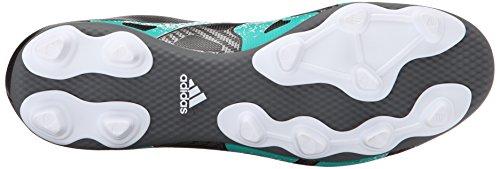 Adidas Performance X 15.4 Chaussures de football, noir / choc Mint / blanc, 6,5 M Us Black/Shock Mint/White