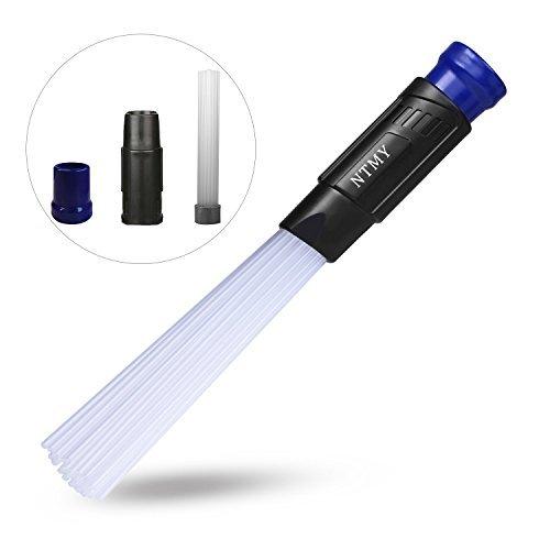Dust Staubsaugerbürste, NTMY Staubsaugeraufsatz Reinigungswerkzeuge mit 1,25 \'\'/1,37 \'\' (32/35mm) Innendurchmesser Schlauch, starke Saugkraft