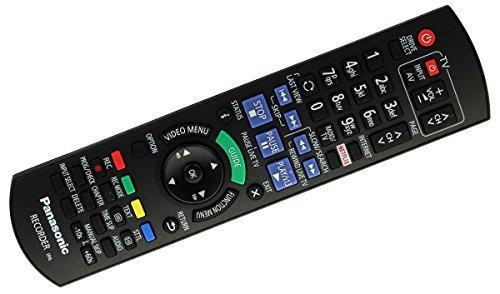 Original Panasonic N2QAYB001046 Fernbedienung für DMR-BCT730, DMR-BST735, DMR-BCT735, DMR-BST835 - Panasonic Dmr
