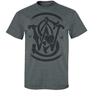 Smith & Wesson gelösten Logo T-Shirt, Grau, 13SWS025M