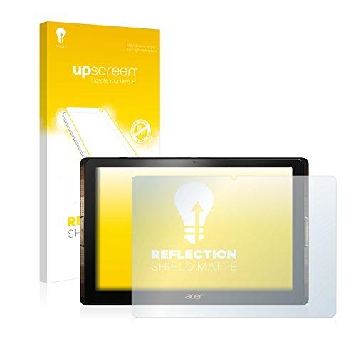 upscreen Matt Schutzfolie für Acer Iconia Tab 10 A3-A40 – Entspiegelt, Anti-Reflex, Anti-Fingerprint
