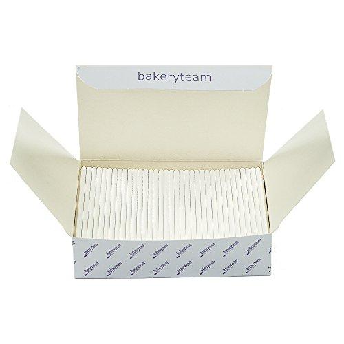 Cake Pop Sticks für Kuchen am Stiel 350 Stück weiß