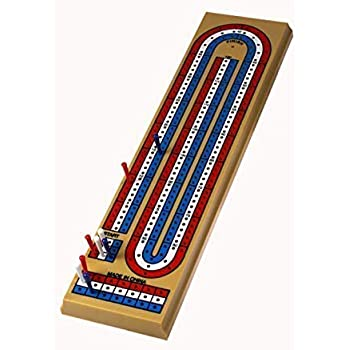 Cribbage Board, 3 Player